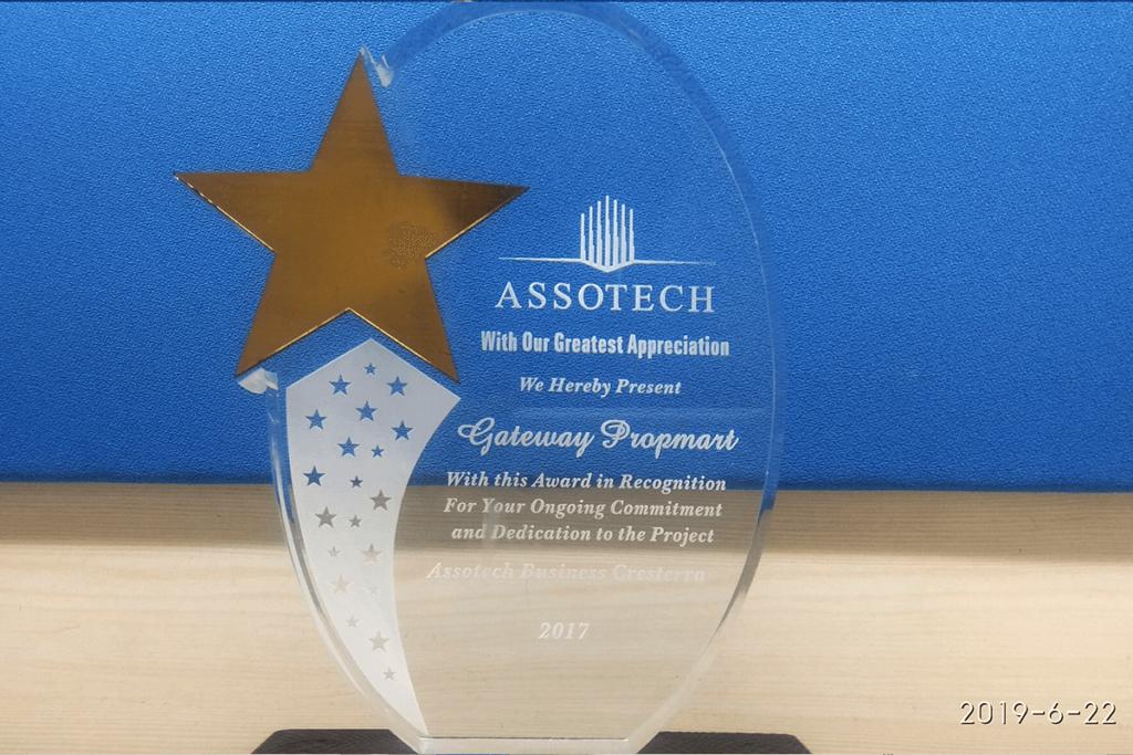 Assotech Appreciation Award 2017